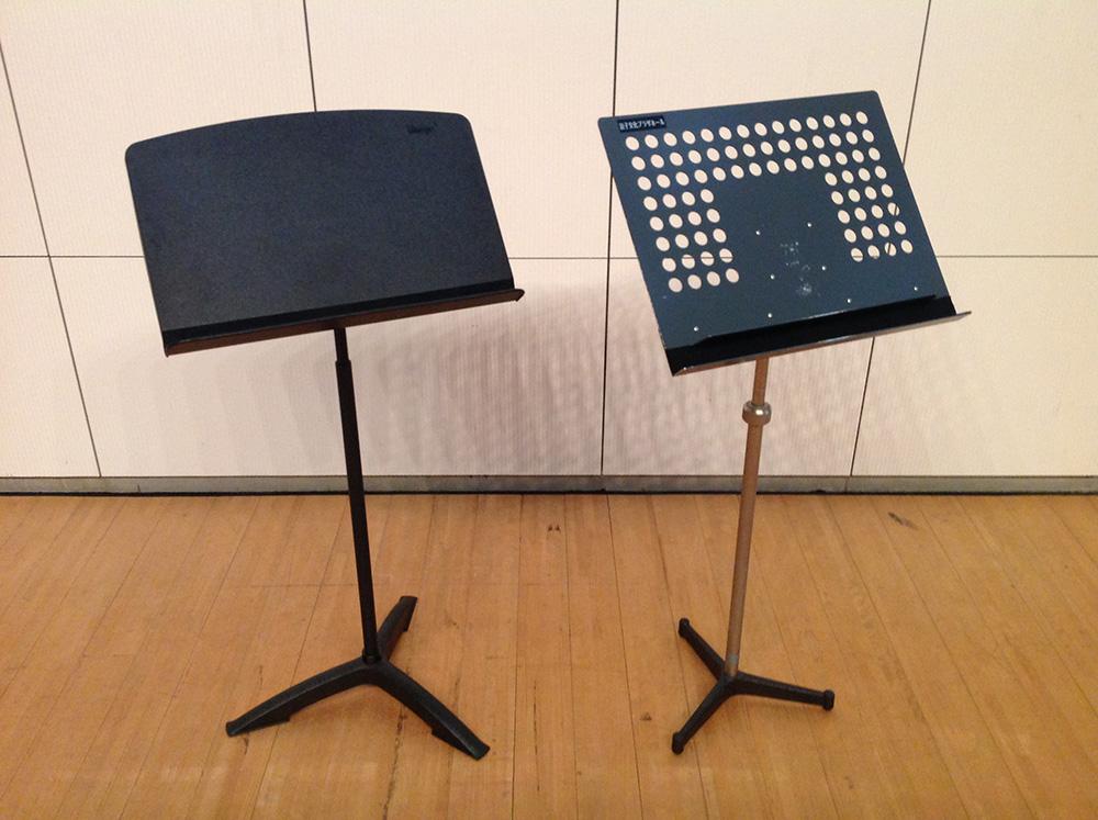 演奏者用譜面台